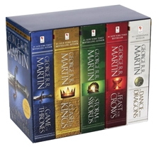 Bild på Game of Thrones, 5 vol box