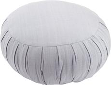 Bild på Meditationskudde: rund (ljusgrå)
