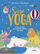 Bild på Sagoyoga : övningar för barn i yoga, andning, avslappning och meditation