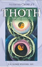 Bild på Aleister Crowley Thoth Deck Premier Edition (Full-Size Deck,