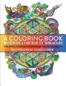 Bild på Coloring book based on a course in miracles