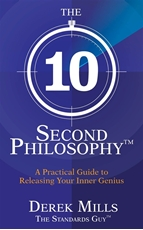 Bild på 10-second philosophy (r) - a practical guide to releasing your inner genius