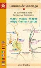 Bild på Camine de santiago maps - tenth edition - st. jean pied de port - santiago