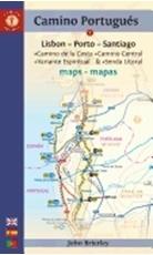 Bild på Camino portugues maps - sixth edition - lisboa-porto-santiago