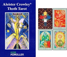 Bild på Aleister Crowley Thoth Tarot - Pocket