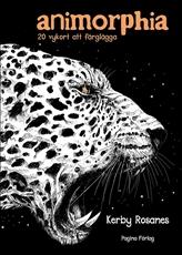 Bild på Animorphia : 20 vykort att färglägga
