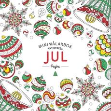 Bild på Jul. Minimålarbok antistress