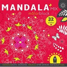 Bild på Mandalamix : målarblock (röd)