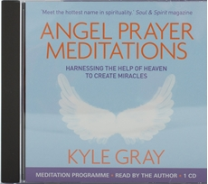 Bild på Angel prayer meditations - harnessing the help of heaven to create miracles